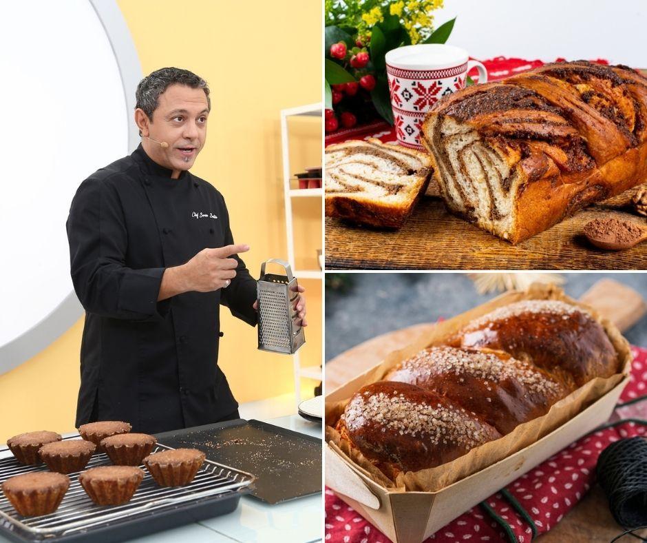 Rețeta de cozonac a lui Chef Sorin Bontea. Trucuri de la juratul Chefi la cuțite pentru cozonac de Paște