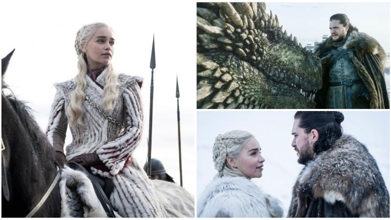 Cei doi actori principali ai serialui Game of Thrones