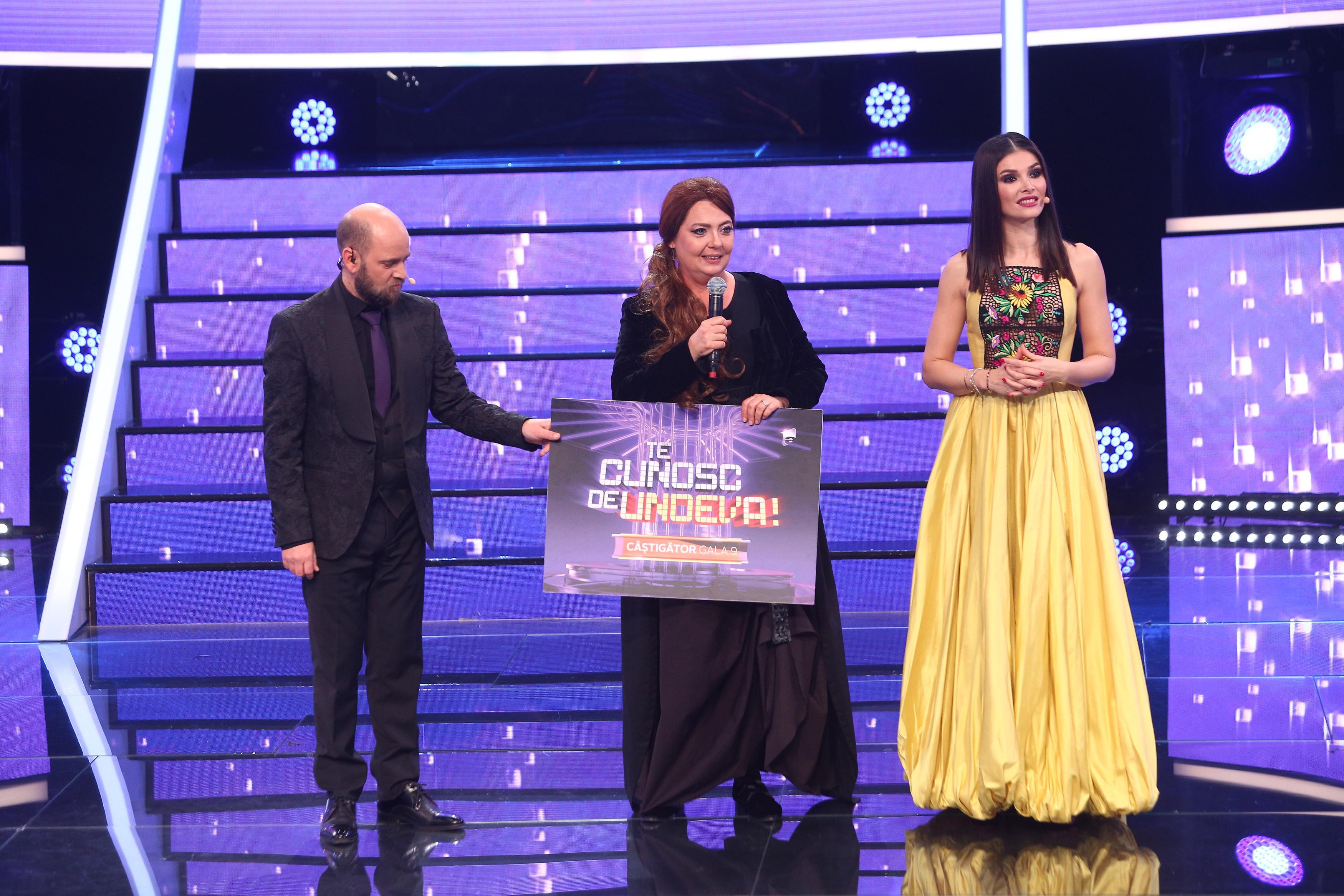 """Te cunosc de undeva, 3 aprilie 2021. Emilia Popescu a câștigat a noua ediție a sezonului 16 """"Te cunosc de undeva!"""""""