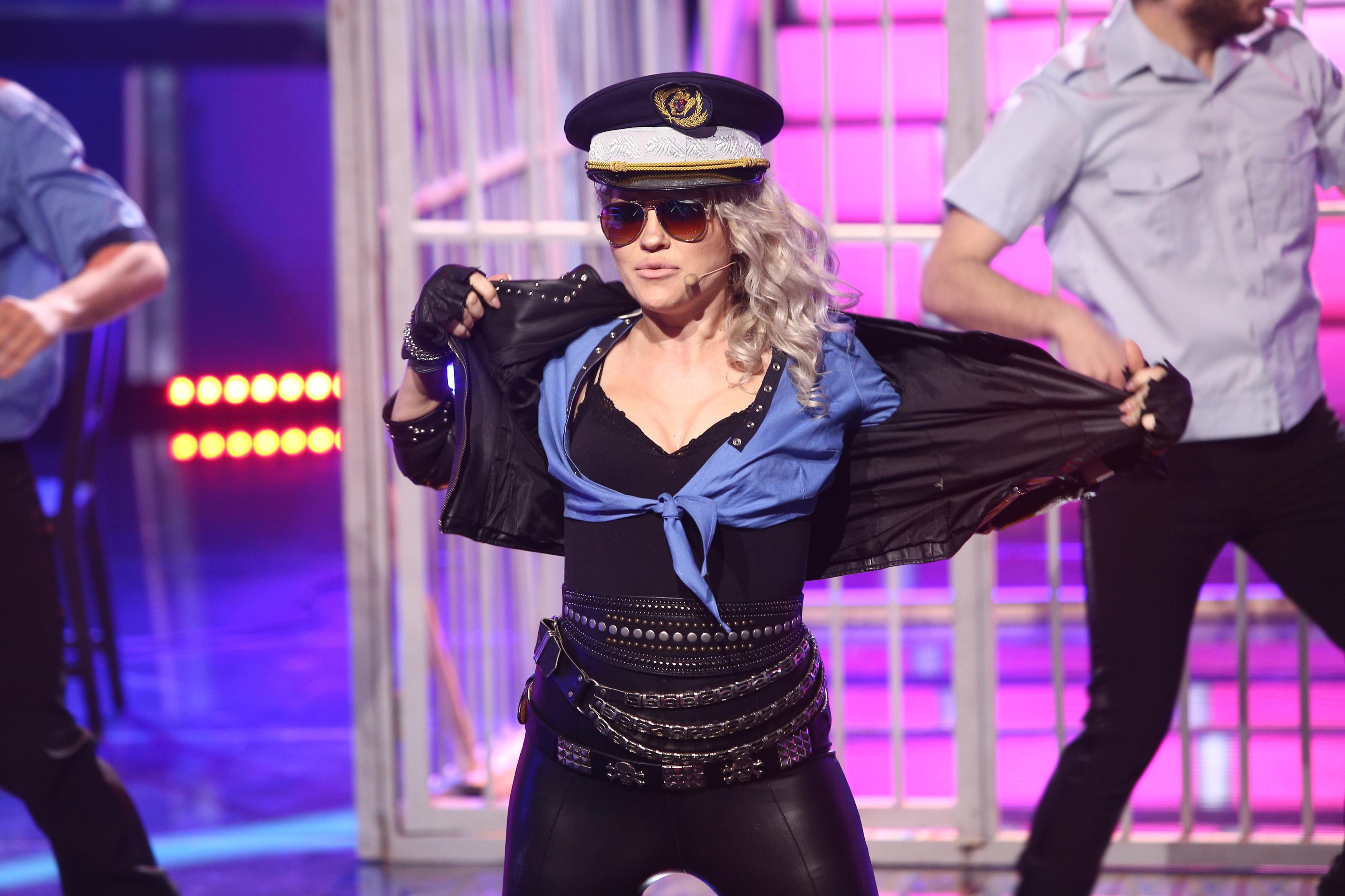 Te cunosc de undeva, 1 mai 2021. Mirela Vaida, o apariție răvășitoare, transformată în Alexandra Stan, face un show incendiar
