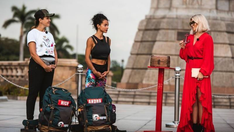 Nico și Alexandra Matei au fost concurente în sezonul 3 Asia Express