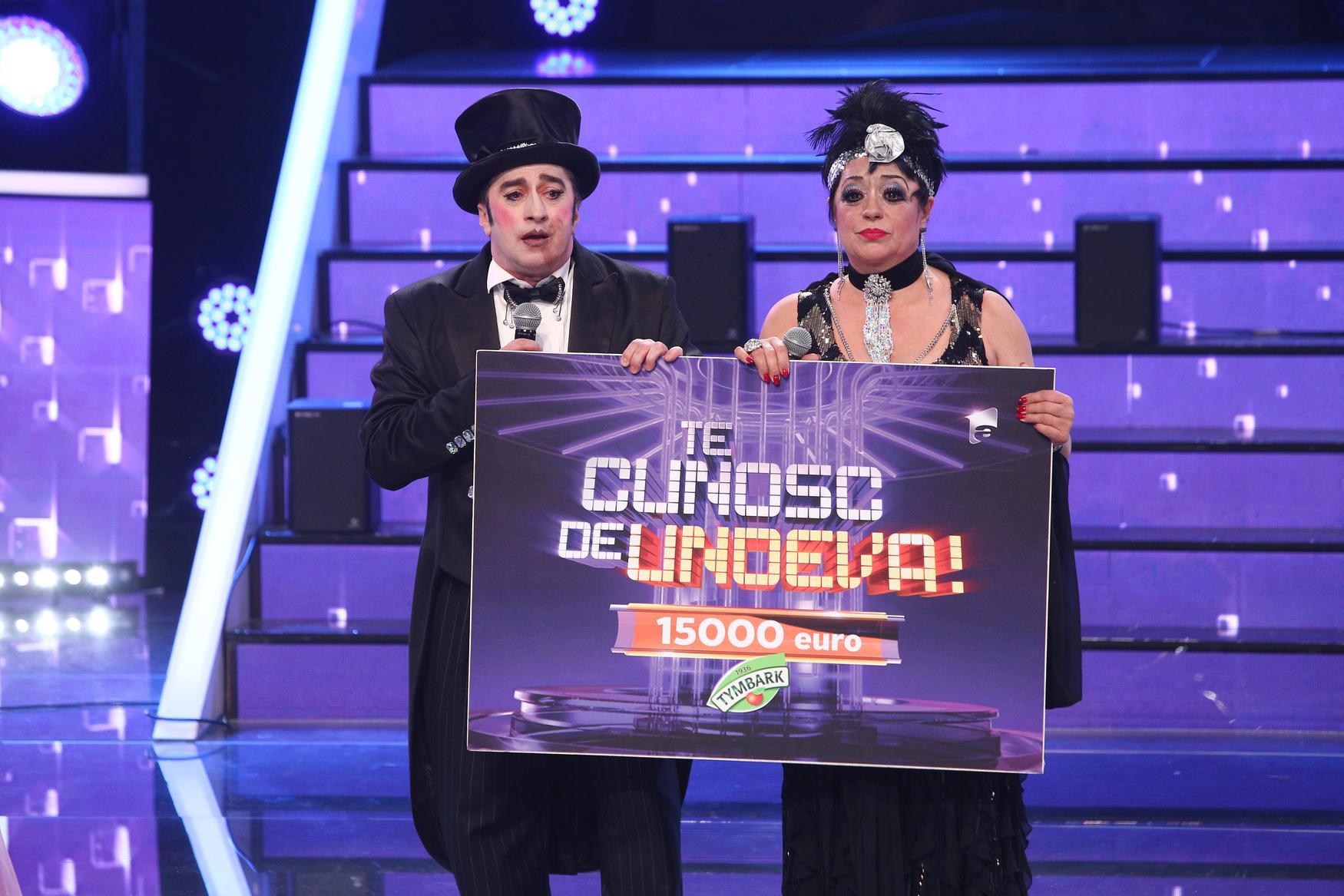 Te cunosc de undeva, 15 mai 2021. Cine a câștigat finala. Adriana Trandafir și Romică Țociu sunt învingătorii sezonului 16