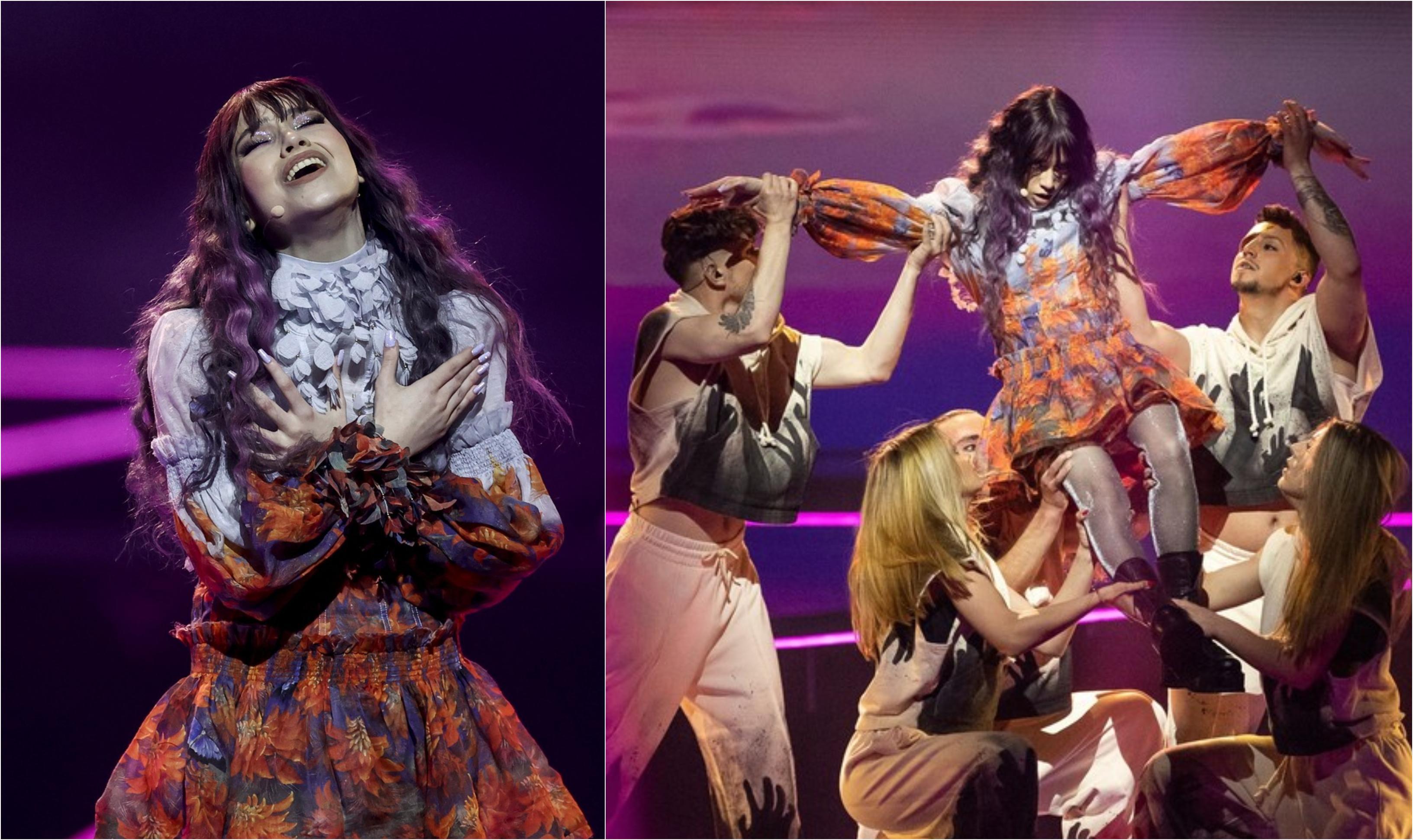 Roxen nu s-a calificat în finala Eurovision 2021. Reprezentanta României nu a trecut de prima semifinală