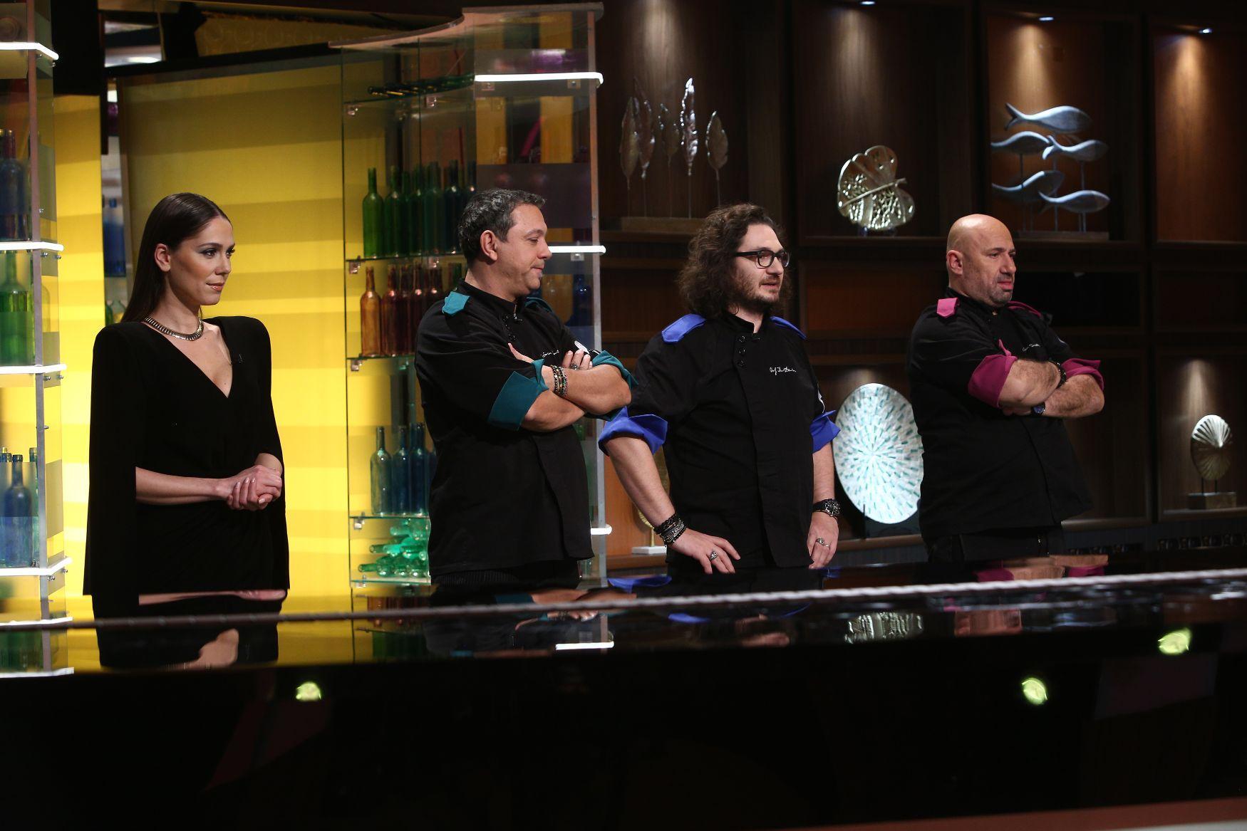 Duminică seară, când show-ul a fost lider de audiență. Chef Sorin Bontea, o nouă victorie în confruntările pe echipe