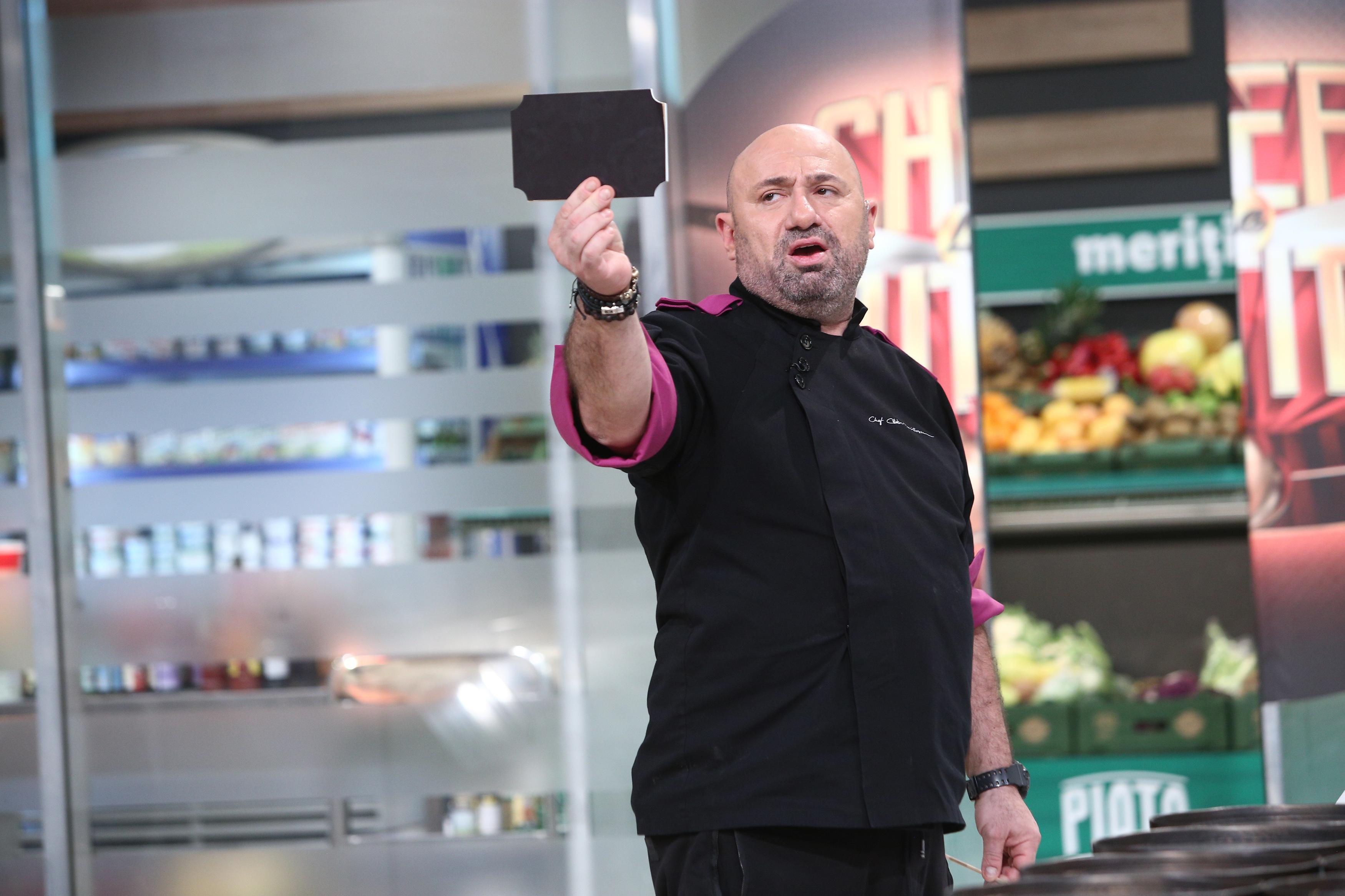 Chefi la cuțite, 30 mai 2021. Cătălin Scărlătescu a folosit o amuletă în ultimele momente ale probei de gătit. Ce a anunțat