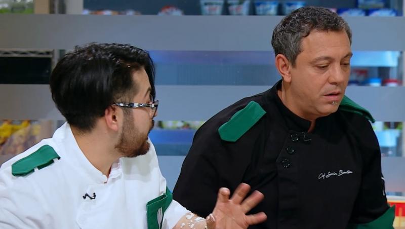 Soirn Bontea a fost dezamăgit de ceea ce au gătit concurenții din echipa sa