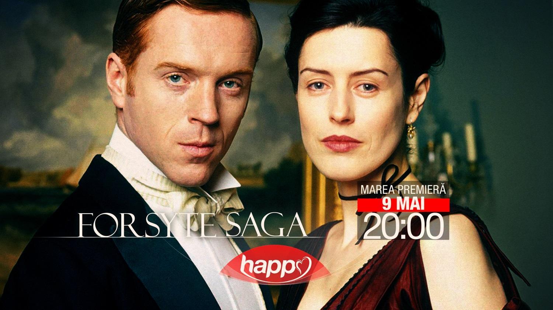 Happy Channel va difuza miniseria Forsyte Saga în fiecare duminică, de la 20.00, începând cu 9 mai