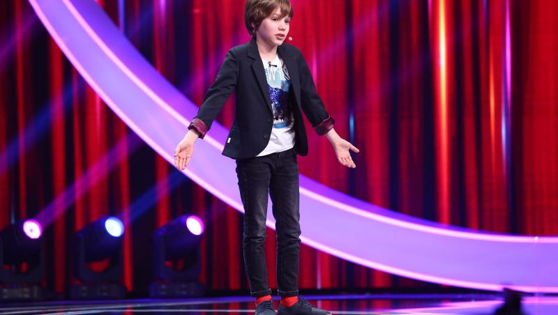 Victor Munteanu, moment inedit făcut la Next Star 2021