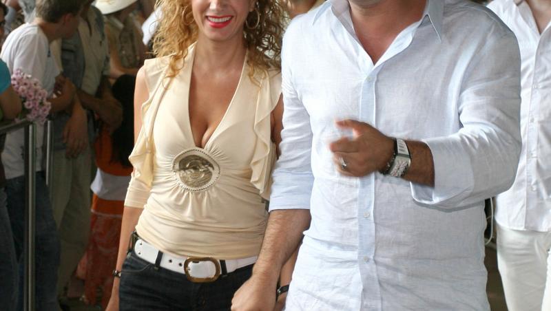 Cristi Borcea, alături de Mihalea Borcea