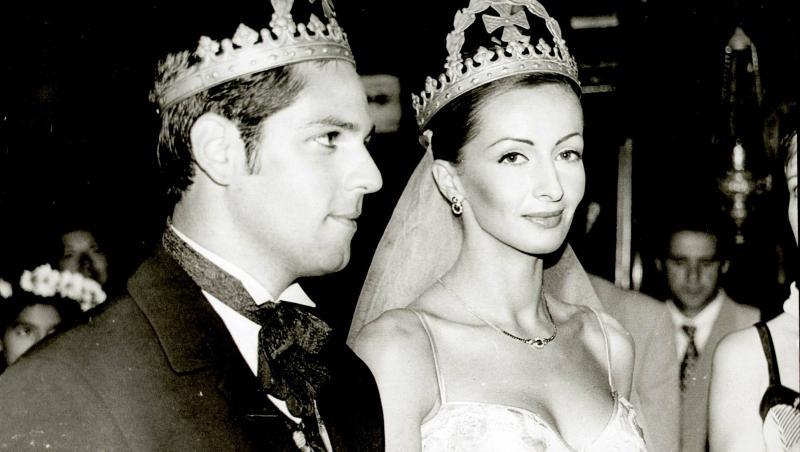 Ștefan Bănică și Mihaela Rădulescu, la nuntă