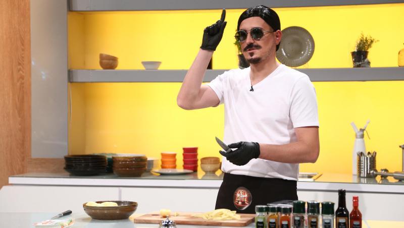 George Tănase, transformat în Salt Bae, la Chefi la cuțite