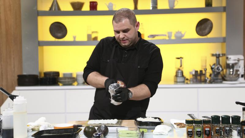 Alexandru Bădițoaia, gătind la Chefi la cuțite, în preselecții