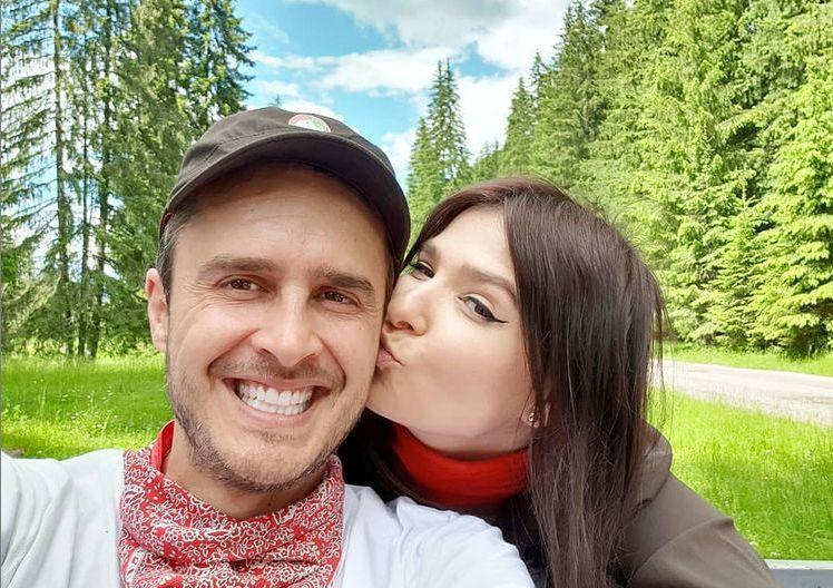 Șerban Copoț și-a botezat fetița