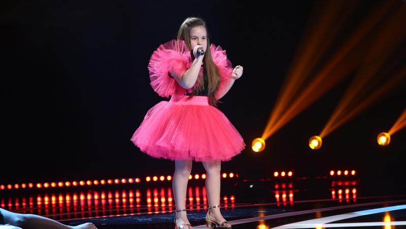 Alessia Sana de la Next Star a cântat o piesă grea