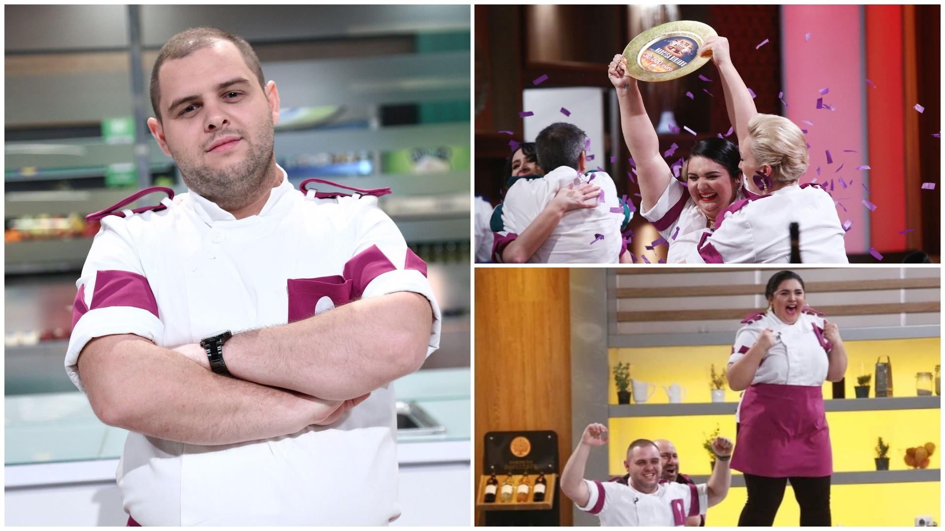 Ce spune Alexandru Bădițoaia despre ajutorul pe care i l-a oferit Narcisei Birjaru în Finala de la Chefi la cuțite