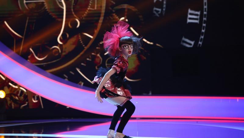 Bianca Zamfir, păpușa vie de la Next Star 2021