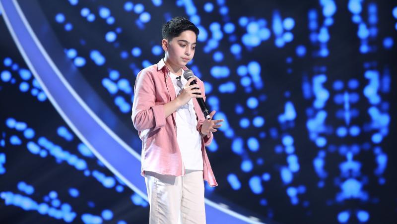 David Dincă a cântat o piesă emoționantă la Next Star