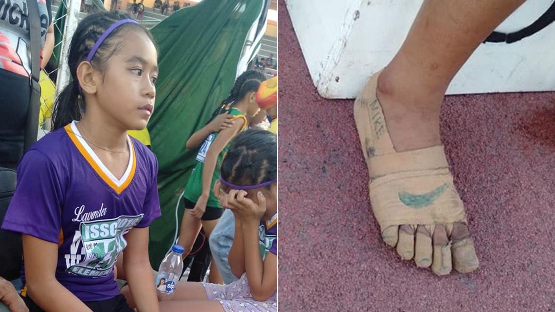 Cum arată acum Rhea Bullos, copila care și-a făcut încălțări din tifon pentru a participa la o competiție