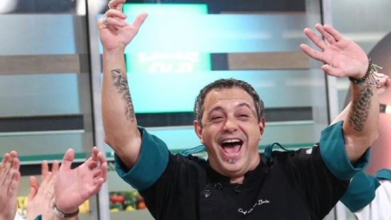 Sorin Bontea a condus echipa verde în sezonul 9 Chefi la cuțite