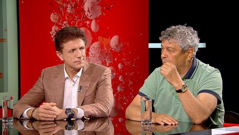 Gică Popescu și invitat al emisiunii