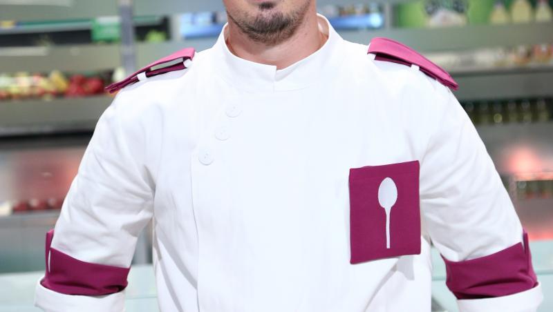 Florin Revesz în bucătăria Chefi la cuțite