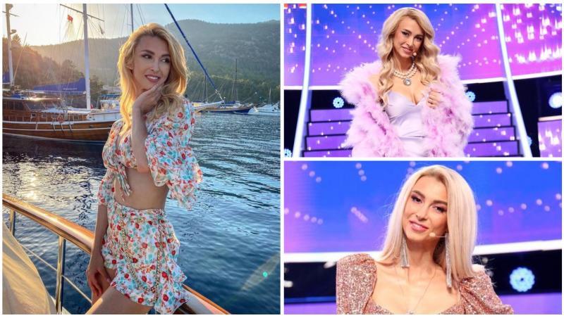 Andreea Bălan în trei ipostaze diferite