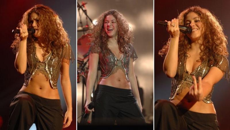 Shakira, momente dintr-un concert