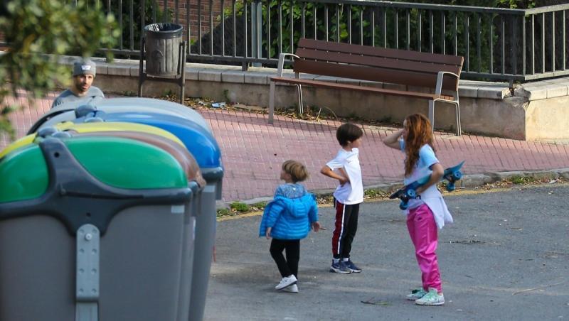 Shakira și copiii ei, fotografiați în Barcelona - 2020