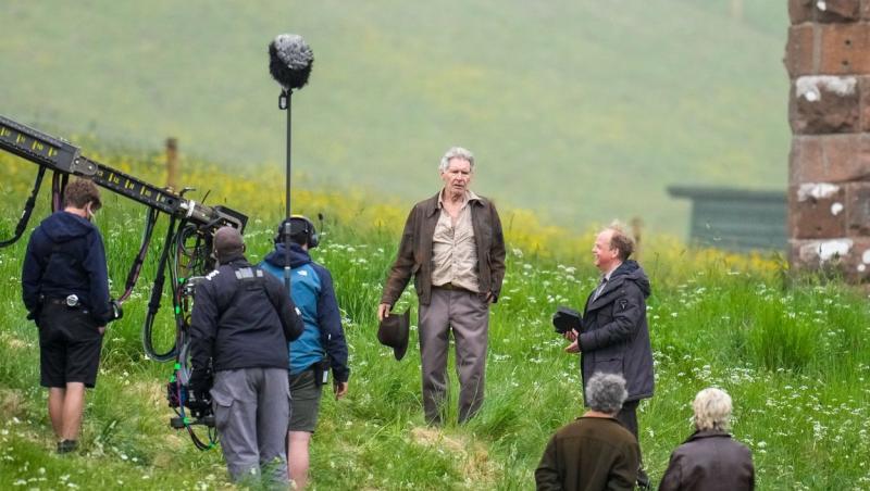 """Harrison Ford, la filmări în Marea Britanie, pentru """"Indiana Jones 5"""""""