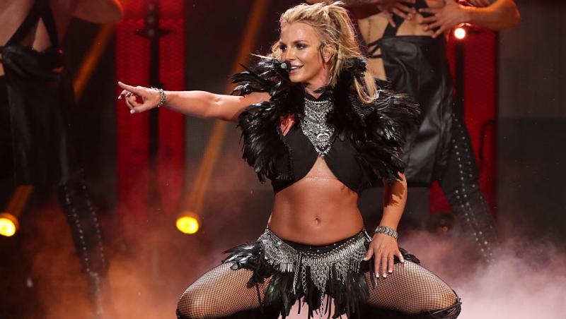 Britney Spears pe scenă