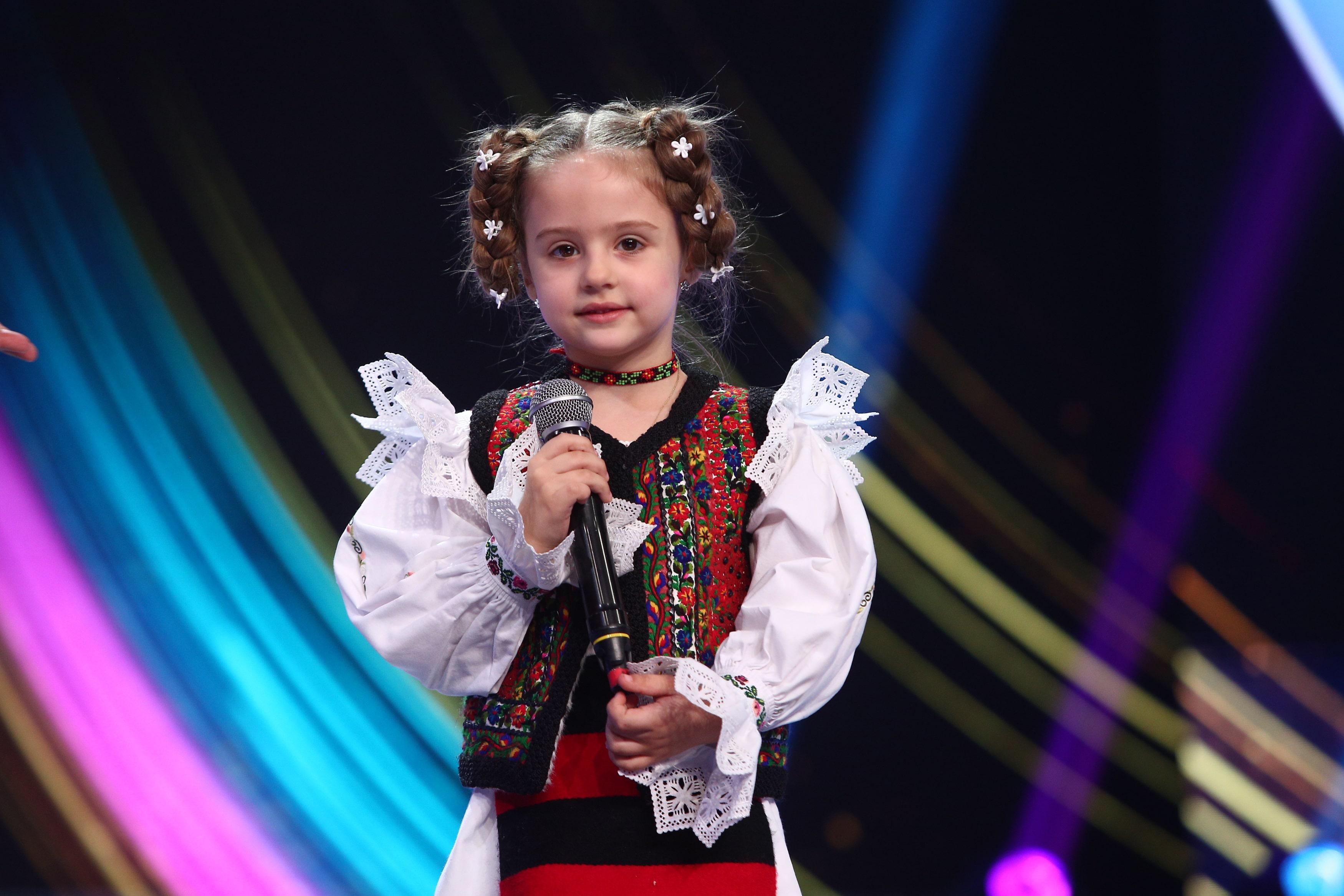 Next Star, 26 iunie 2021. Alessia Câmpan, micuța cântăreață de muzică populară care i-a făcut pe jurați să se amuze