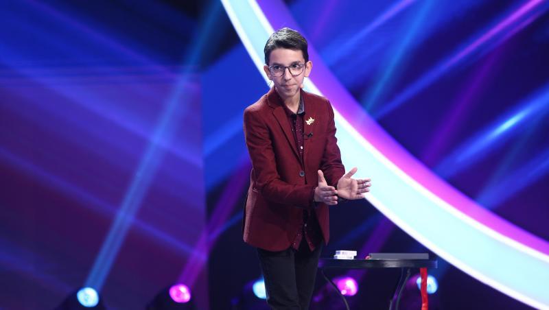 Andrei Paltanea i-a surprins pe jurații Next Star cu un număr de magie la Next Star 2021