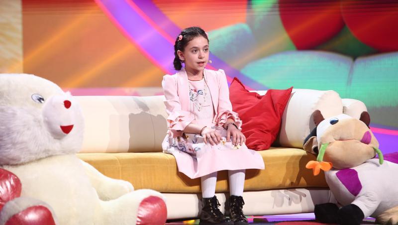 Riana Pârnescu, pe scena Next Star 2021, cu un moment de teatru spectaculos
