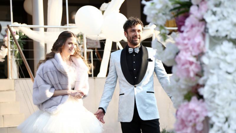 Adela și Mihai la nuntă