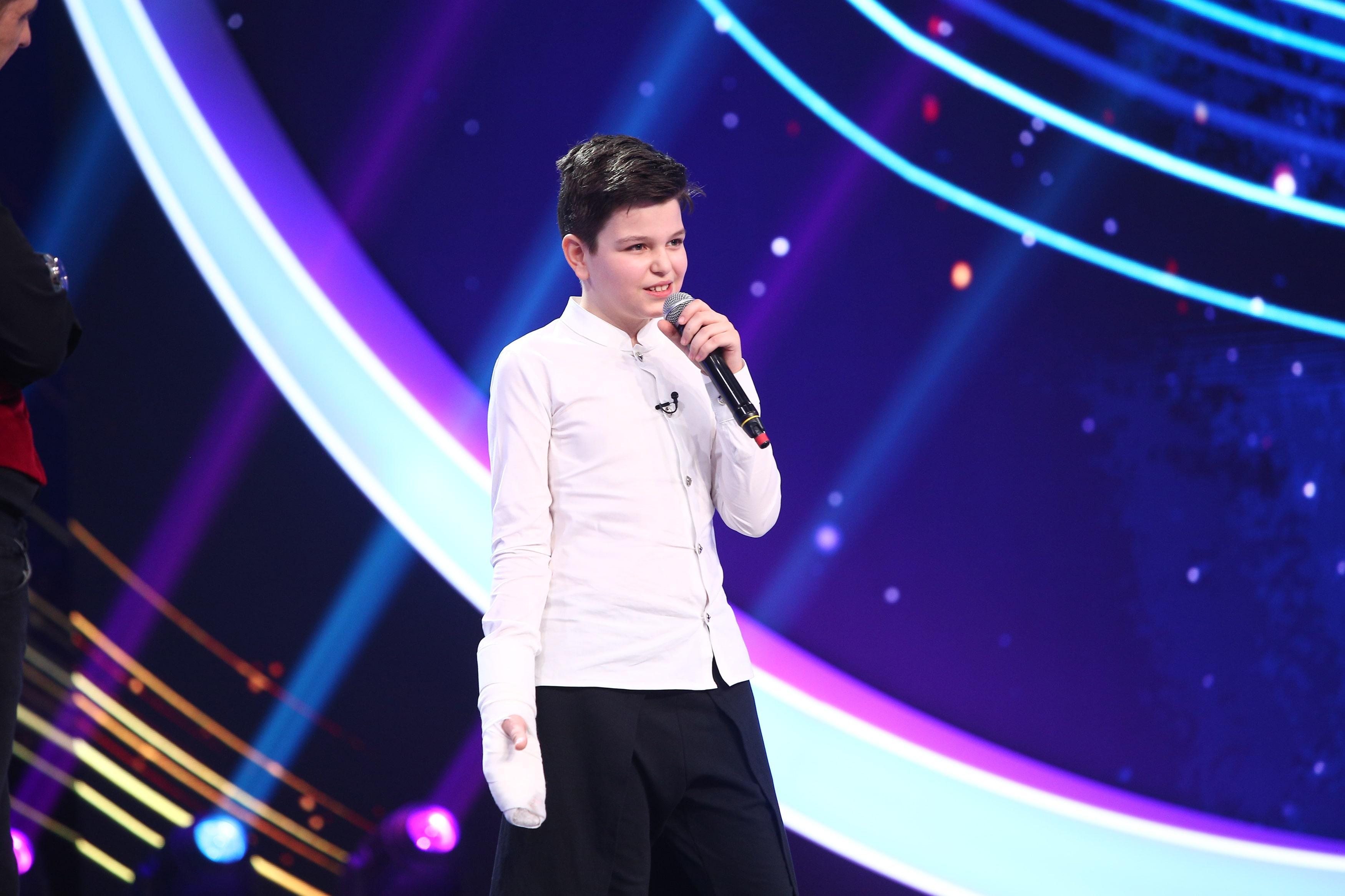Next Star, 26 iunie 2021. Alexandru Ojog, interpretare vocală de excepție. Ștefan Bănică a fost uimit de talentul său