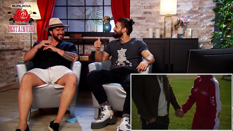 În episodul 14 al show-ului Destăinuiri, difuzat în exclusivitate pe AntenaPlay, Andi Constantin l-a avut ca invitat pe fostul Burlac al show-ului, Bogdan Vlădău.