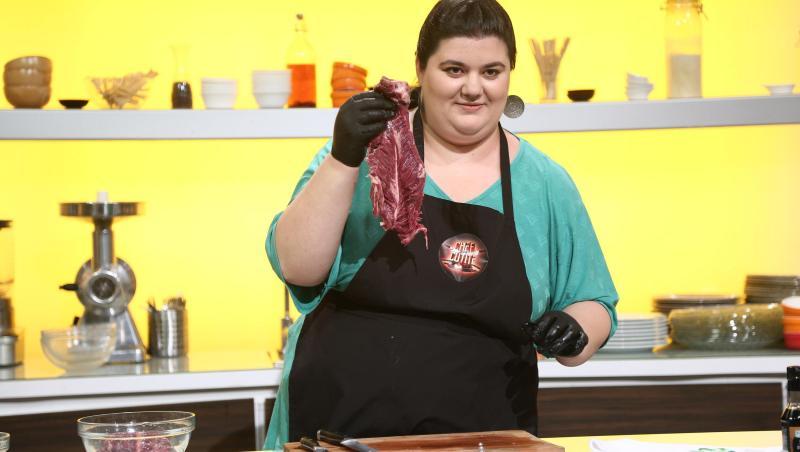 Claudia Radu, în preselecțiile Chefi la cuțite