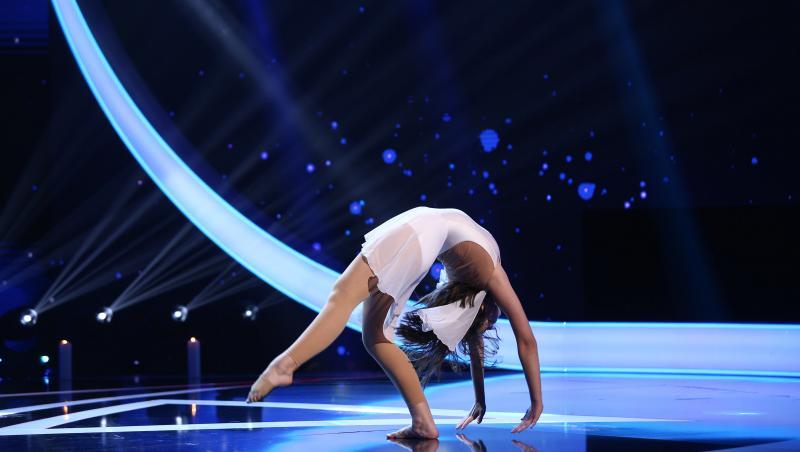 Vanessa Bondor, moment de balet la Next Star 2021