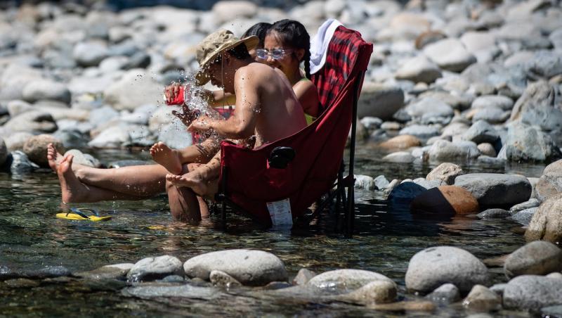 Temperaturi caniculare în Canada