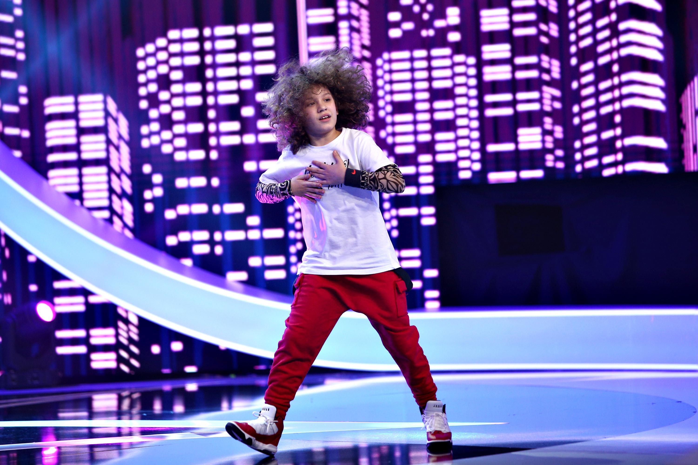 Next Star, 5 iunie 2021. Ianis Lupu, moment unic de breakdance. A fost lăudat pentru podoaba capilară bogată