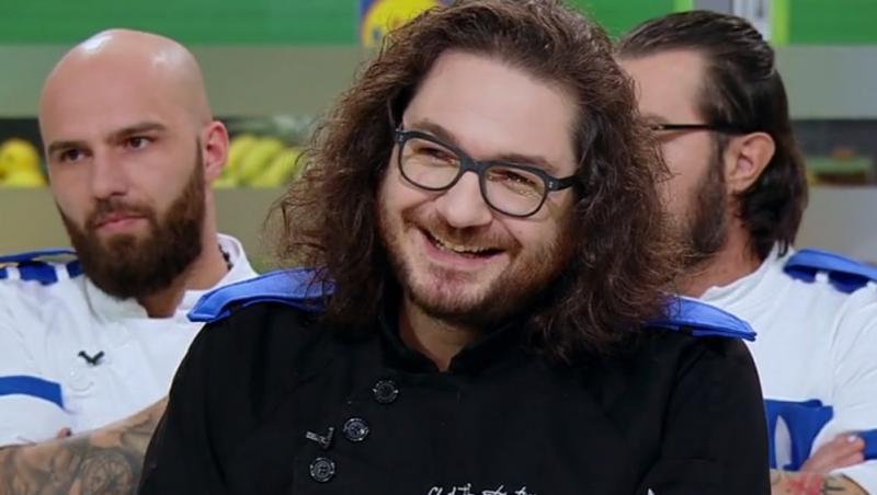 """Florin Dumitrescu a folosit o amuletă puternică în ediția 43 din sezonul 9 """"Chefi la cuțite"""""""