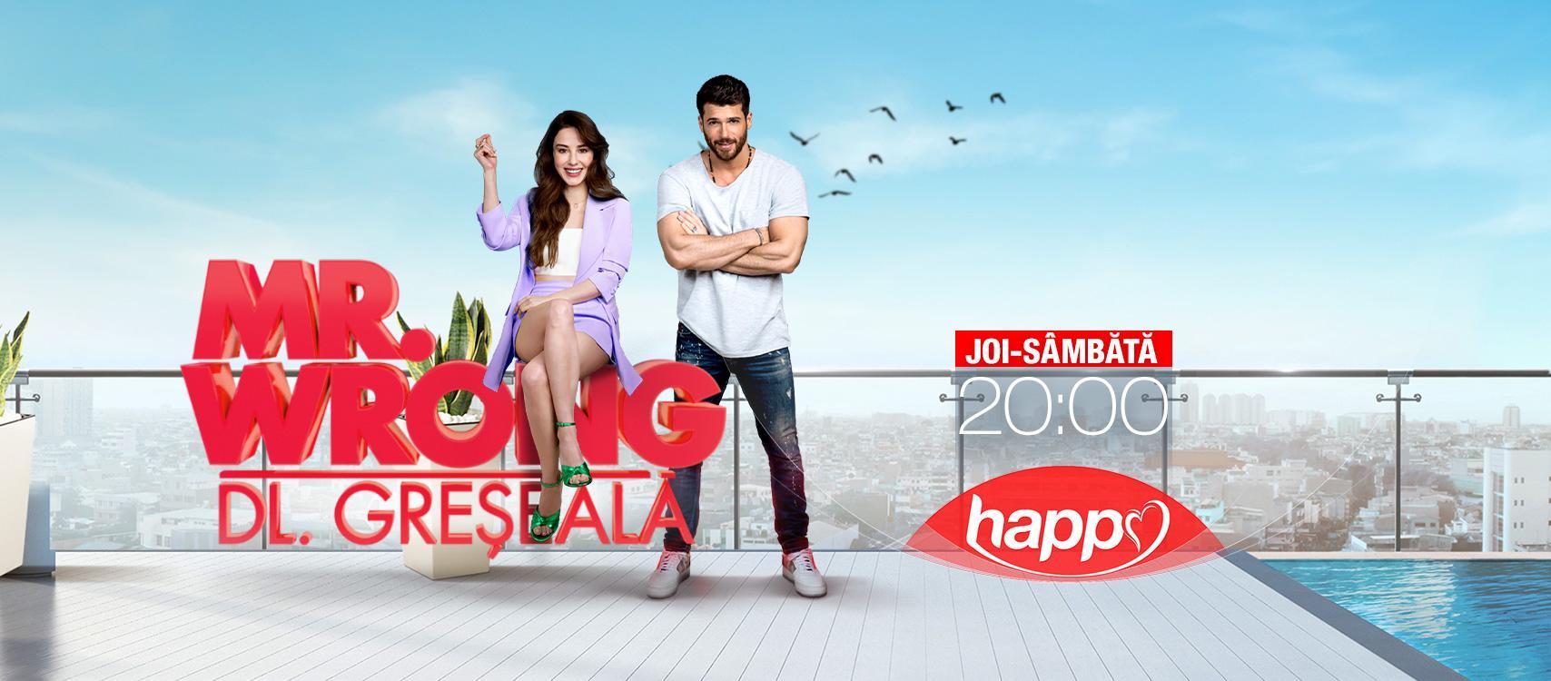 Din 10 iunie, de joi până sâmbătă, de la 20:00, Happy Channel va difuza serialul turcesc Mr. Wrong