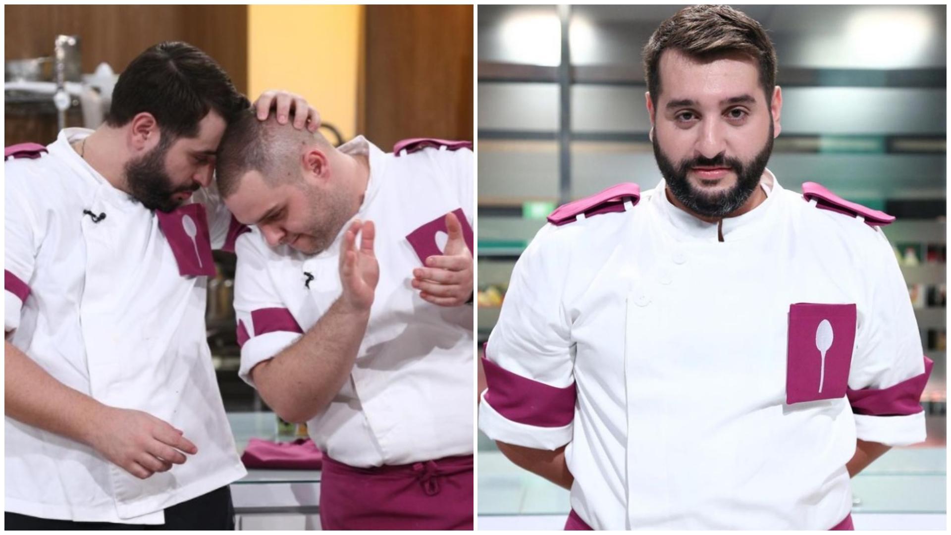 Vicenzo Aiello, despre eliminarea la Chefi la cuțite. Ce i-a transmis lui Alexandru Bădițoaia, cel pe care l-a salvat Scărlătescu