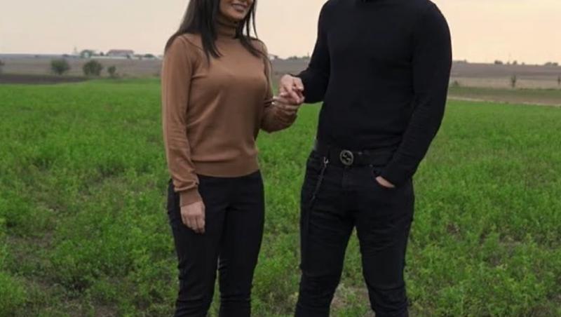 Andi Constantin și Ana Bene se țin de mână