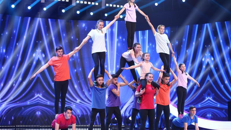 Școala Gimnazială Recea, moment de rezistență și acrobație la Next Star 2021