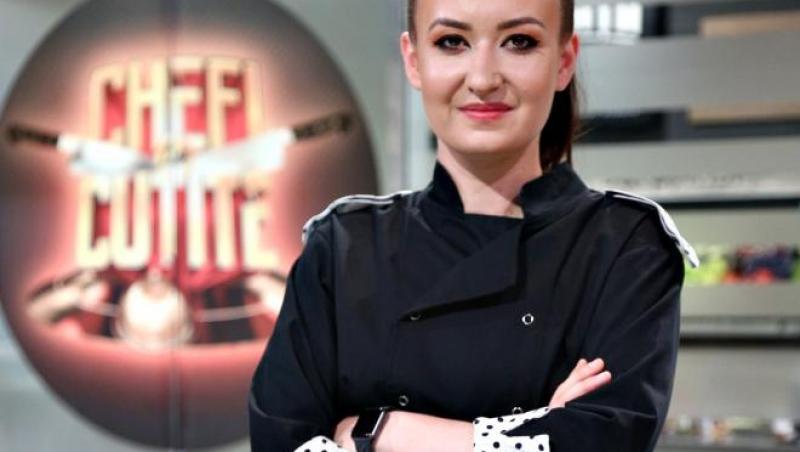 """Roxana Blenche, finalistă în sezonul 8 al emisiunii """"Chefi la cuțite"""""""