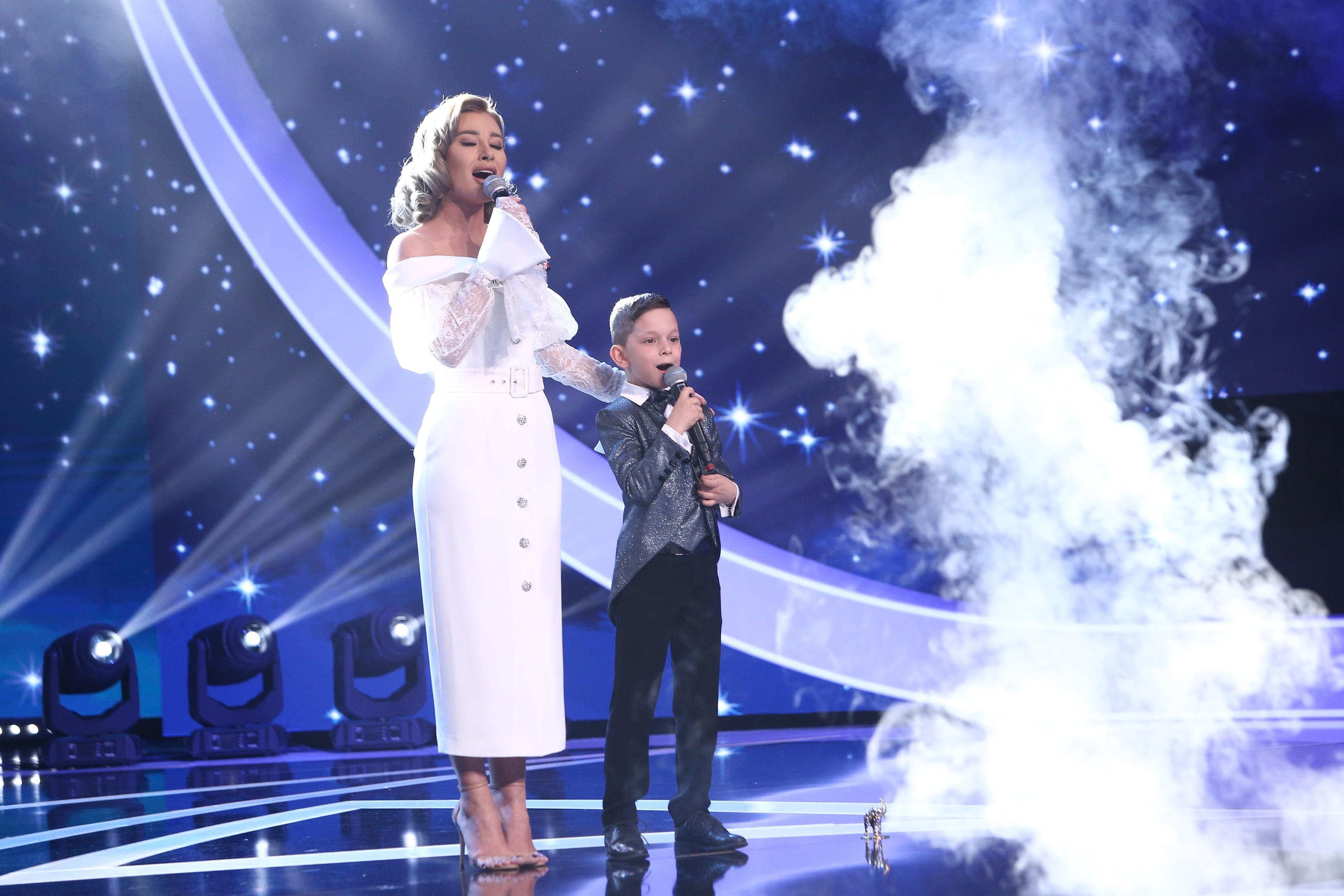 """Finala Next Star 2021. Eric Dobriceanu, duet """"până la stele"""" alături de soprana Irina Baianț. Cum au reacționat jurații"""