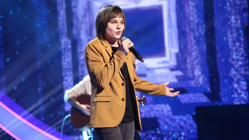 Marc Mitrașcă, interpretare uimitoare a unei piese emoționantă, alături de Florin Ristei la Next Star 2021, în finală