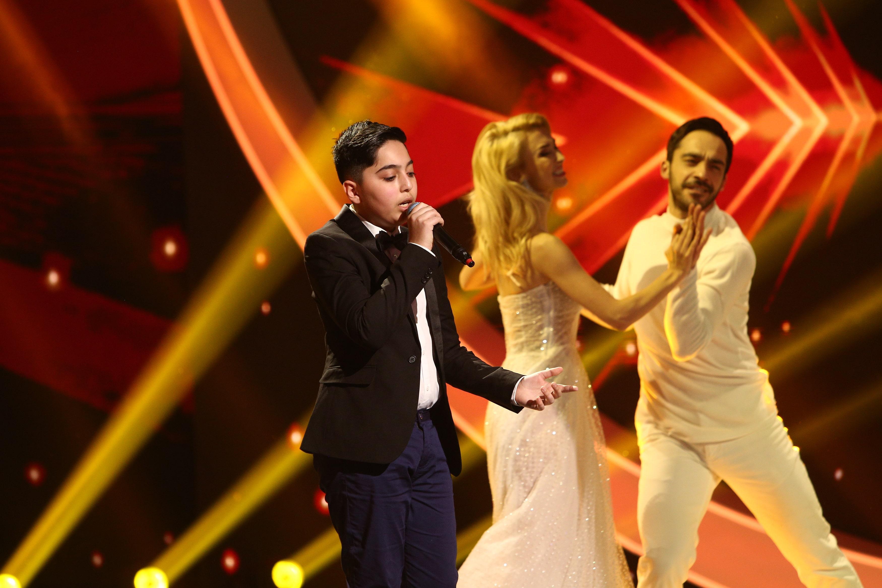 Finala Next Star 2021. David Dincă, alături de Andreea Bălan pe scenă. Cât de bine a cântat el. Juriul s-a ridicat în picioare