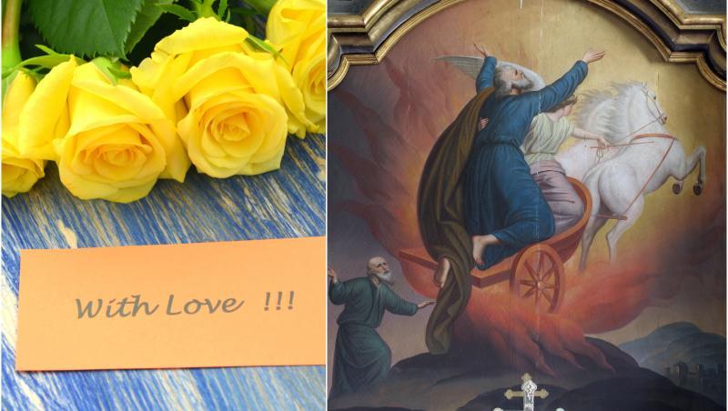 """Sfântul Ilie 2021. Mesaje și urări de """"La mulți ani"""" pentru sărbătoriți"""